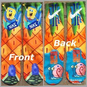 Underwear & Socks - Spongebob pineapple house socks